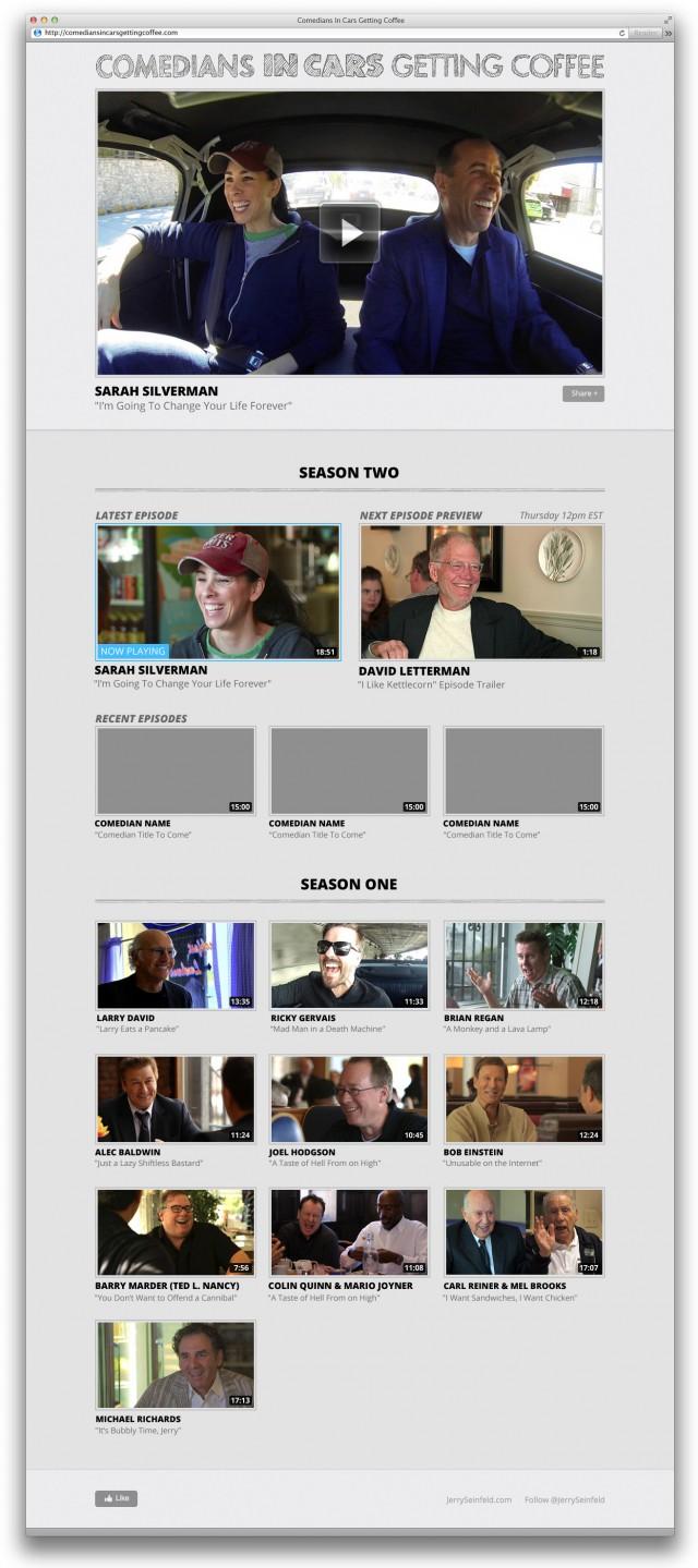 Comedians In Cars Getting Coffee Season 2 Desktop View