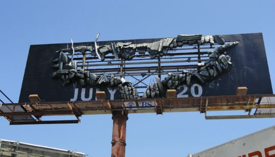 Batman The Dark Knight Rises Outdoor Advertising Campaign