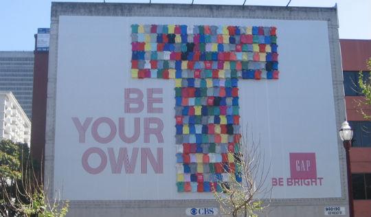 GAP Outdoor Advertising Campaign