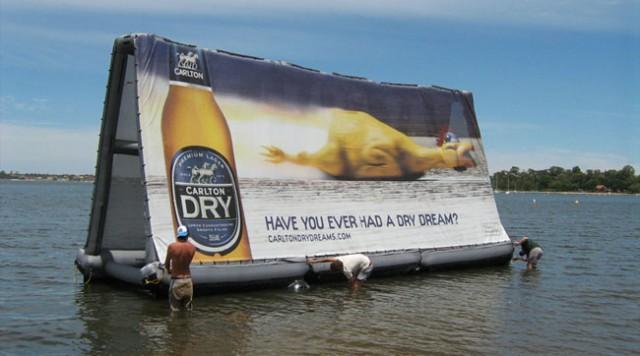 Inflatable Billboard