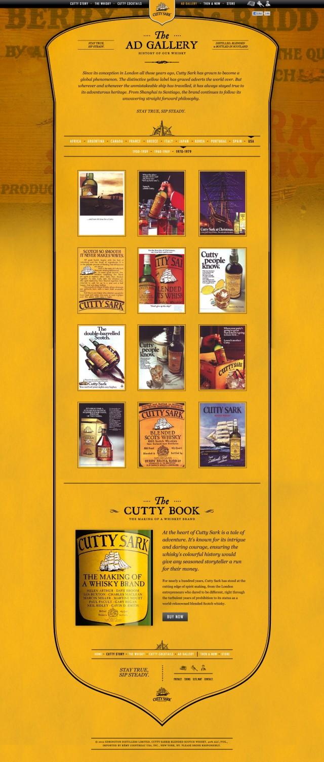 Cutty Sark Ad Gallery