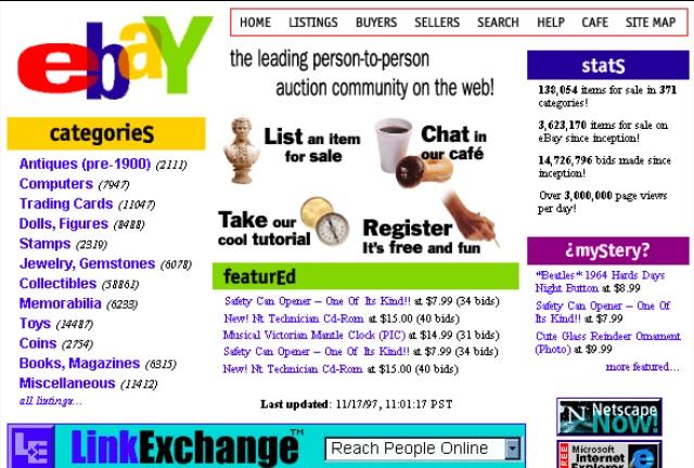 eBay Early Design