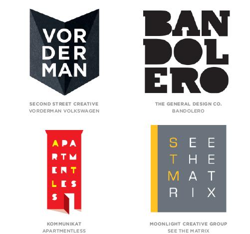 Letter Stacks Logo Design Trend