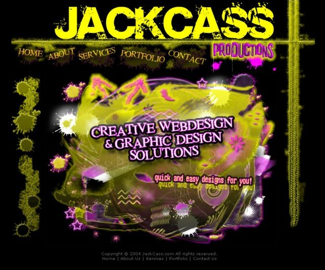 2004 JackCass Productions Website