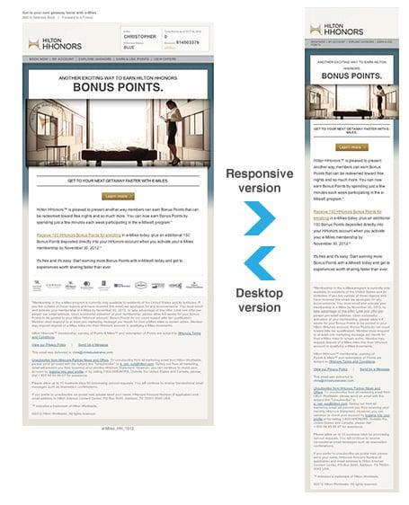 Hilton HHonors Newsletter