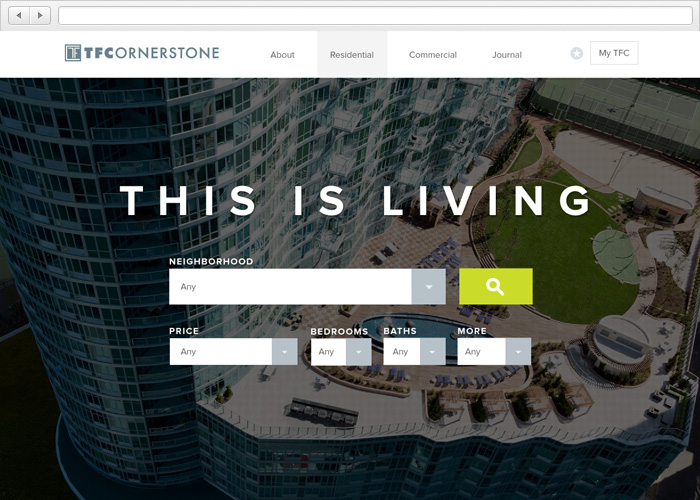 TF Cornerstone Website