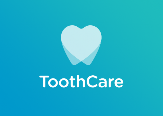 Tooth Care Logo Reverse