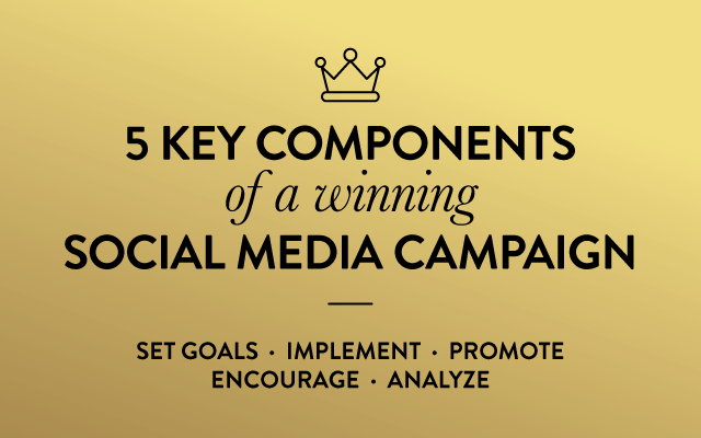 5 Key Components of a Winning Social Media Campaign
