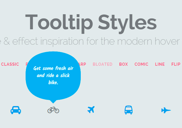 Tooltip styles inspiration tutorial