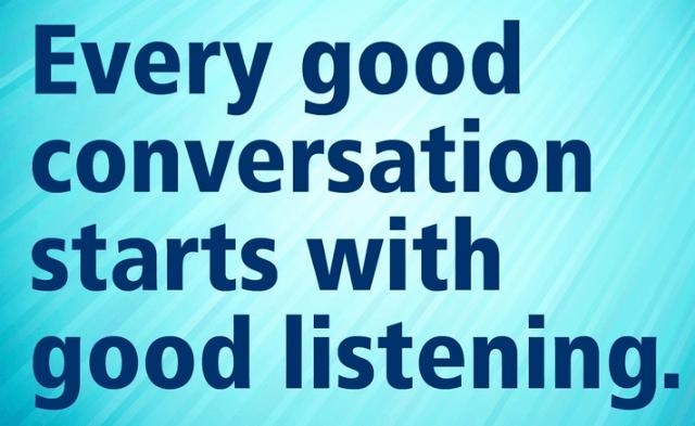 Keep Calm Listen