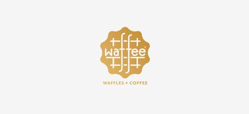 Waffee Logo Design
