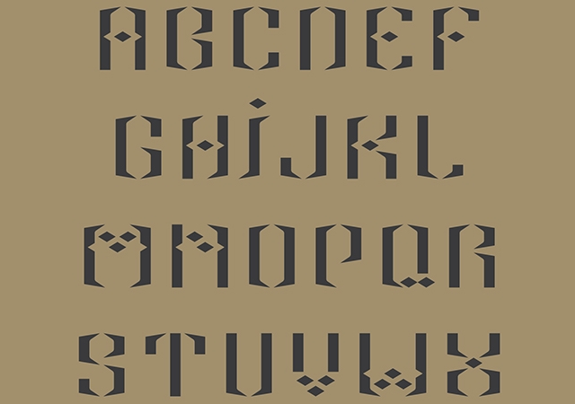 Alif Display Font