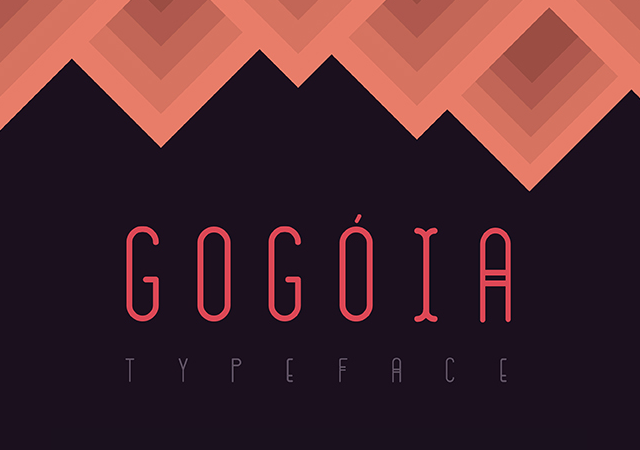 Gogóia Typeface