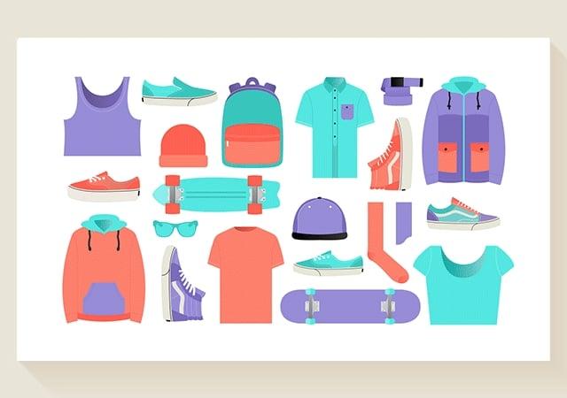 Vans Illustration Kit