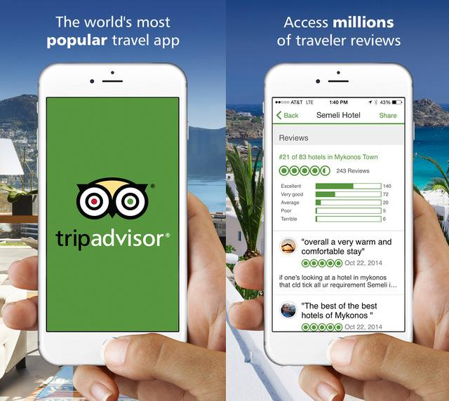 Trip Advisor iPhone App