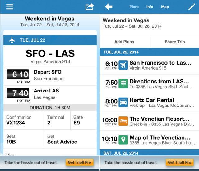 Trip It iPhone App
