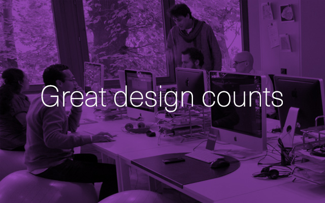 Great Design Counts
