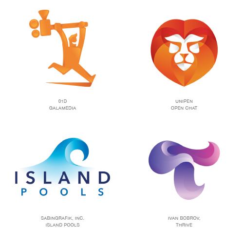 Contours Logo Trend