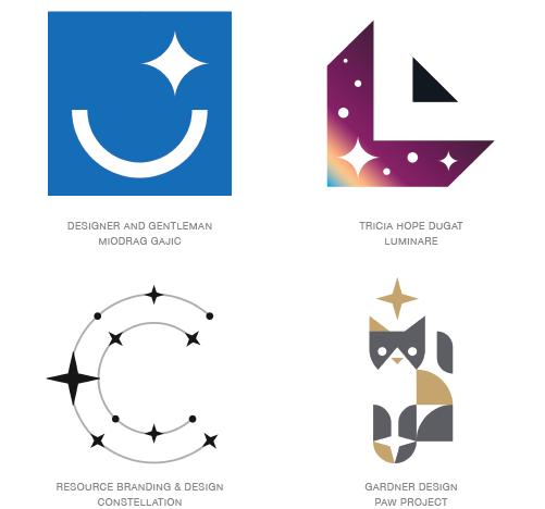 Sparkle Logo Trend