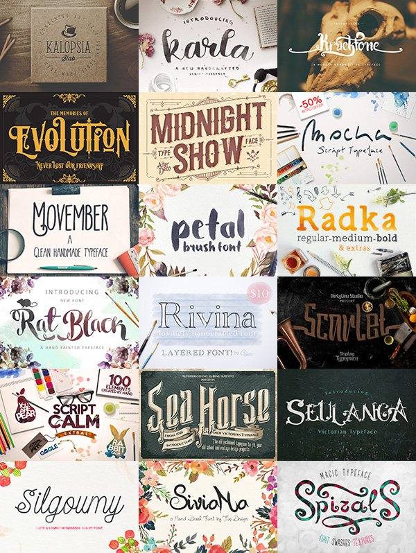 Font Package Deal 2