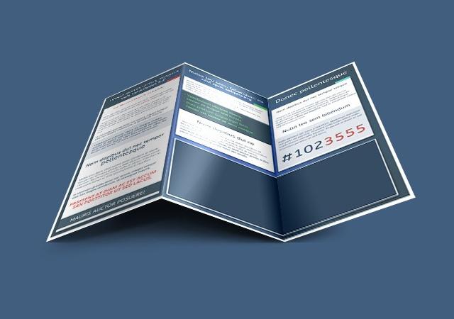 50 AI, PSD and INDD Tri-fold Editable Templates