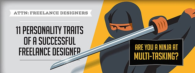 11 Personality Traits of a Successful Freelance Designer