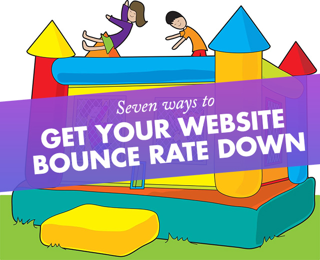 Website Bounce Rate Down