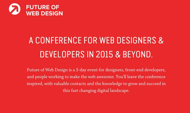 Future of Web Design & Future of Web Apps Conferences
