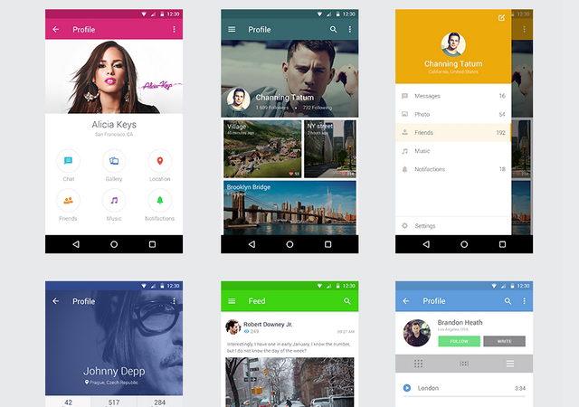 Smart Object-featured Android UI Kit