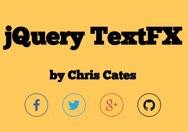 TextFX: JavaScript Text Animation Plugin