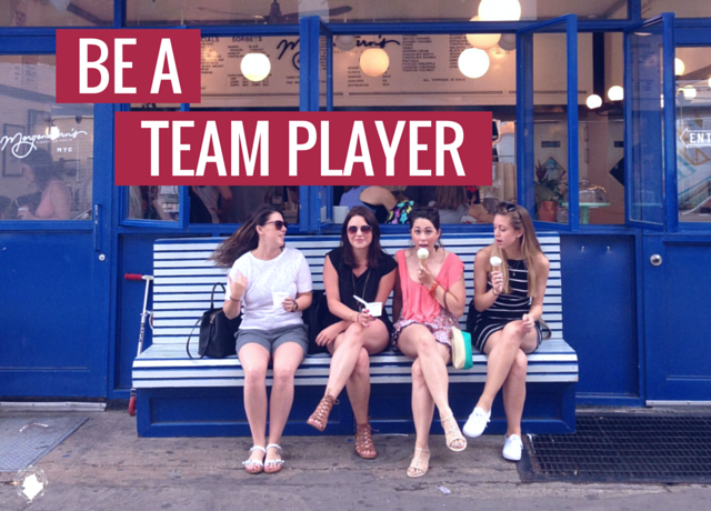 Be a Team Player and Learn from Others