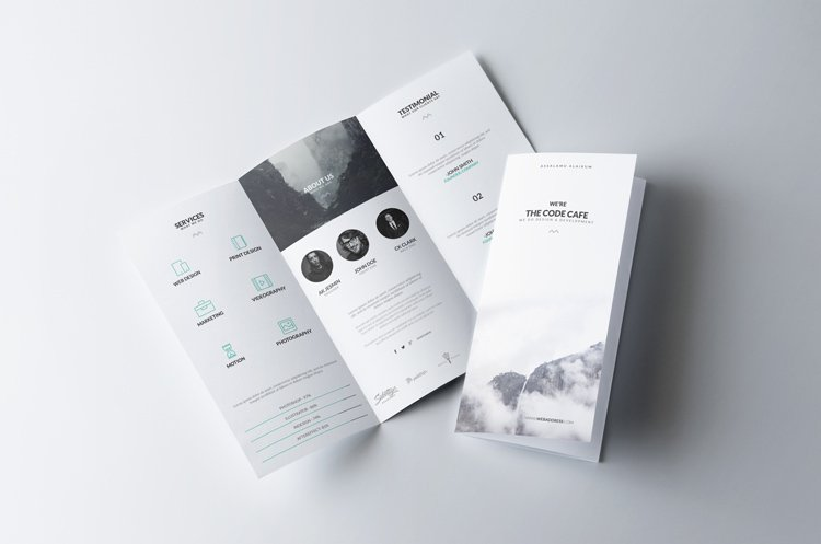 Collection Of FREE Branding Templates Mockups JUST Creative - Invoice mockup psd free
