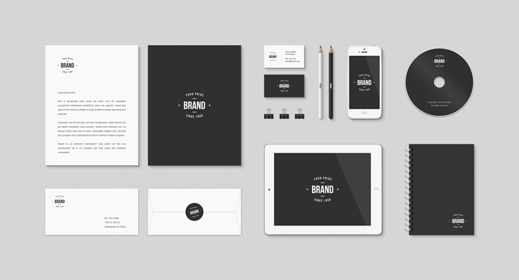 Collection Of FREE Branding Templates Mockups JUST Creative