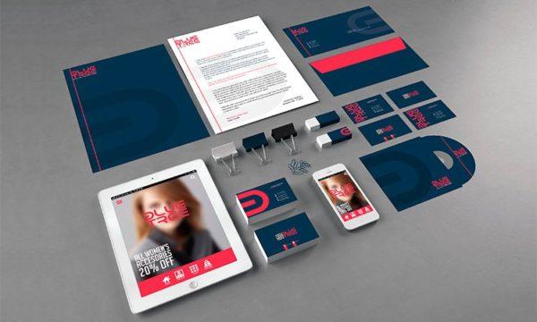 Print-Ready Branding PSD Template