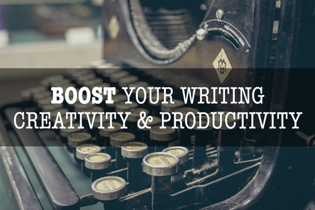 Boost Your Writing Creativity & Productivity