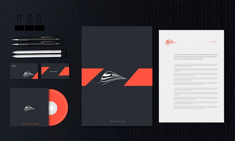 Stationery Design Templates Vector