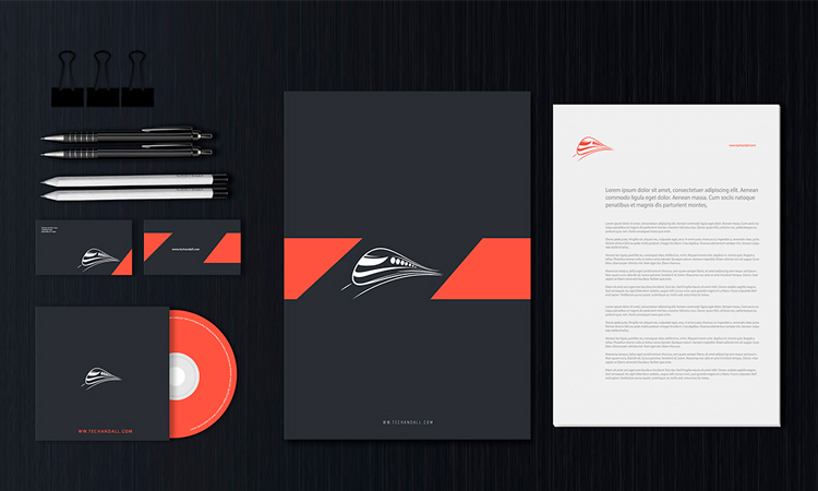 Stationery Design Templates Psd