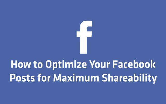 Facebook Sharing Tips