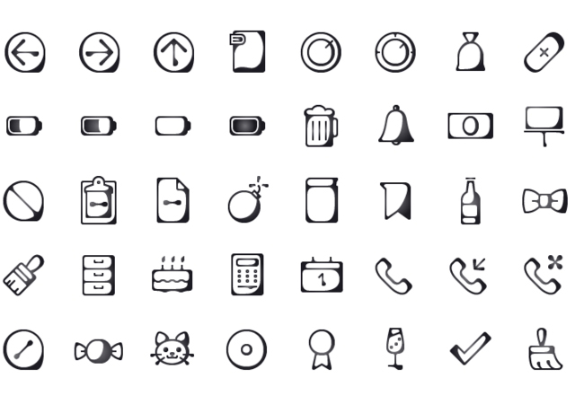 Inkallicons: Free Water-ink Line Ai & SVG Icons