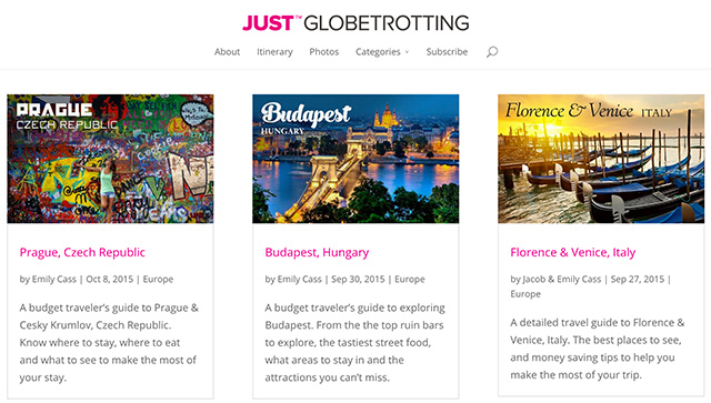 Just Globetrotting