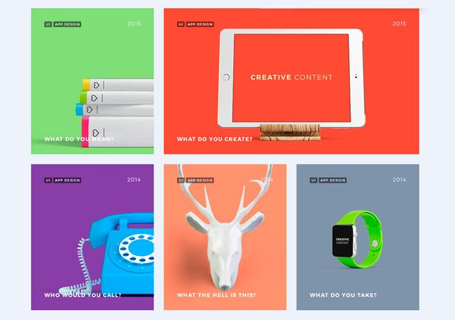 Arcane UI: One-page Website PSD Template