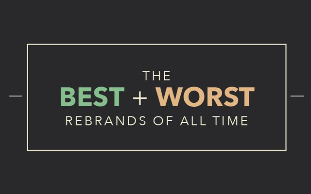 Best Worst Rebrands