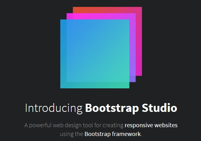 Bootstrap Studio: Responsive Websites Creation Tool