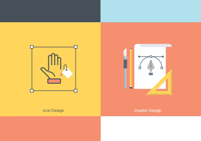 Creative Fields Icon Set