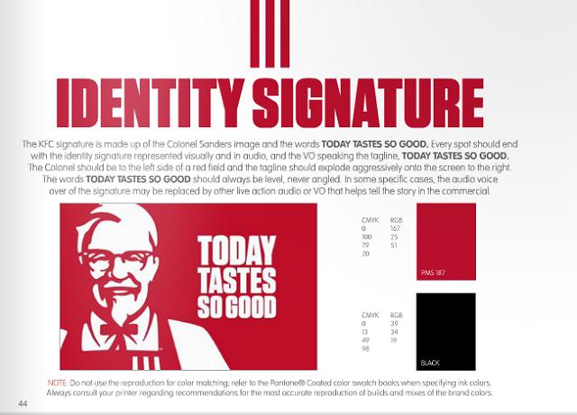 KFC Styleguide