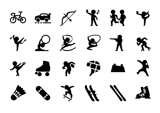 More Than 5800 iPhone Sport Icons Set