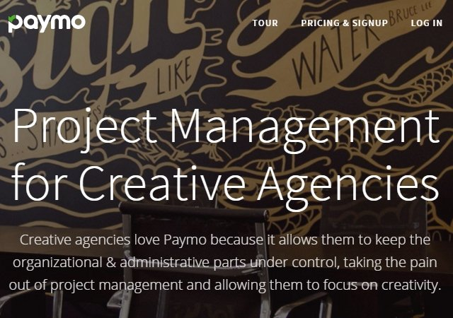 Paymo: Project Management for Creative Agencies