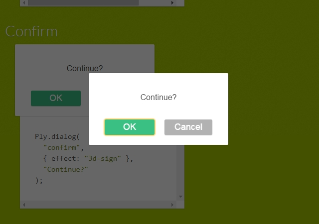 Ply: Customizable Layers, Modals, & Dialogs