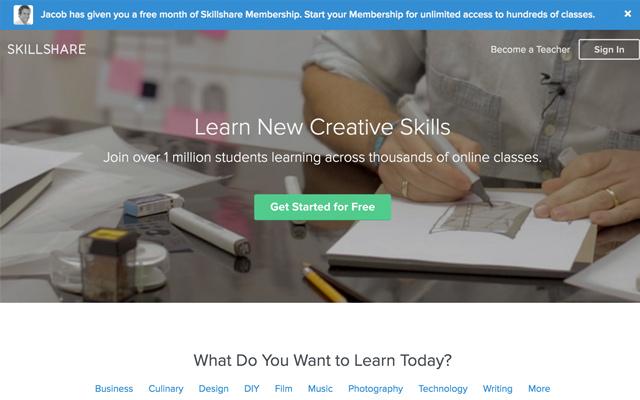 Skillshare Classes