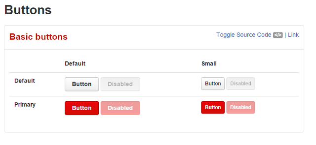 Yelp Button Styles